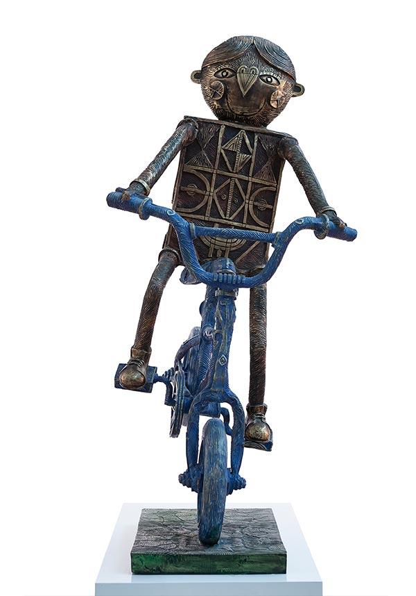 Niño en bicicleta 2016